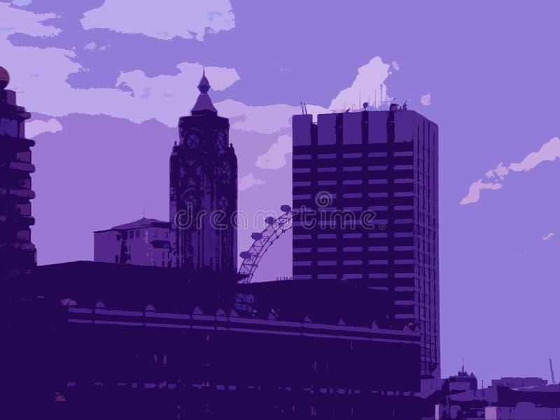 Ilustración de Londres ilustración del vector