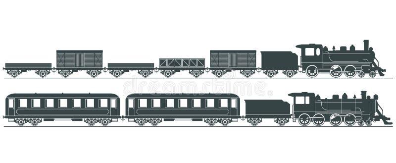 Ilustración de los motores de vapor   libre illustration