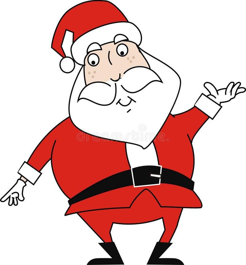 Ilustración de Papá Noel fotos de archivo libres de regalías