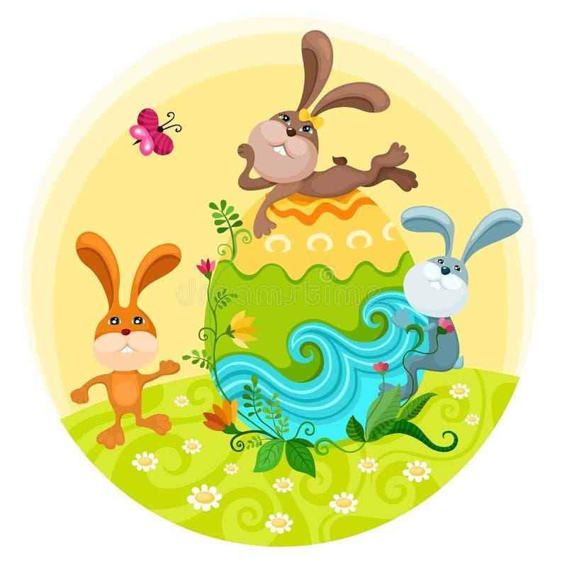 Ilustración de Pascua ilustración del vector