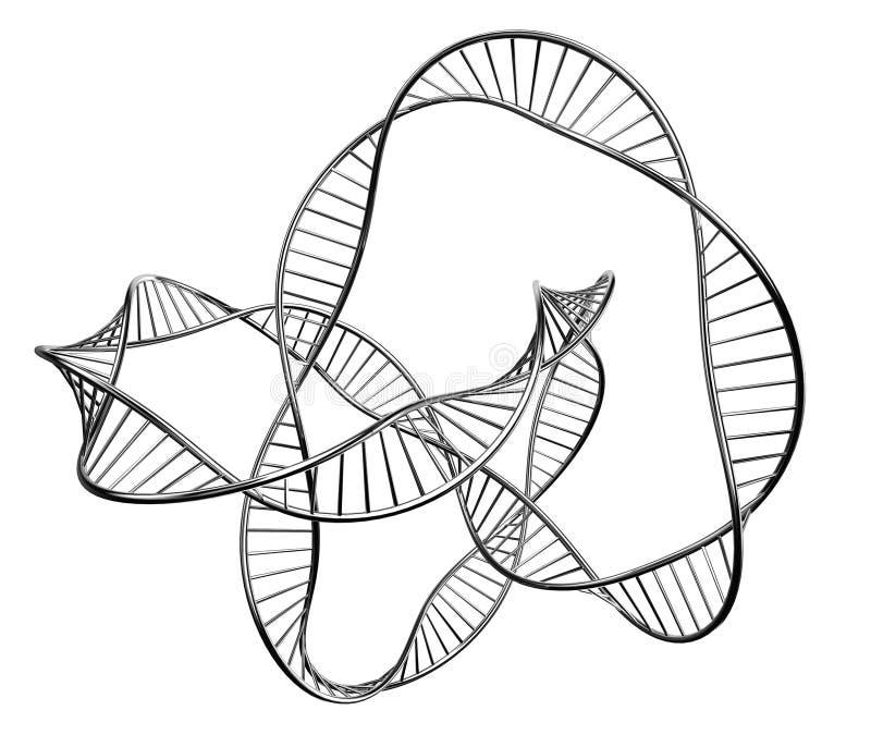 Ilustración de una DNA libre illustration