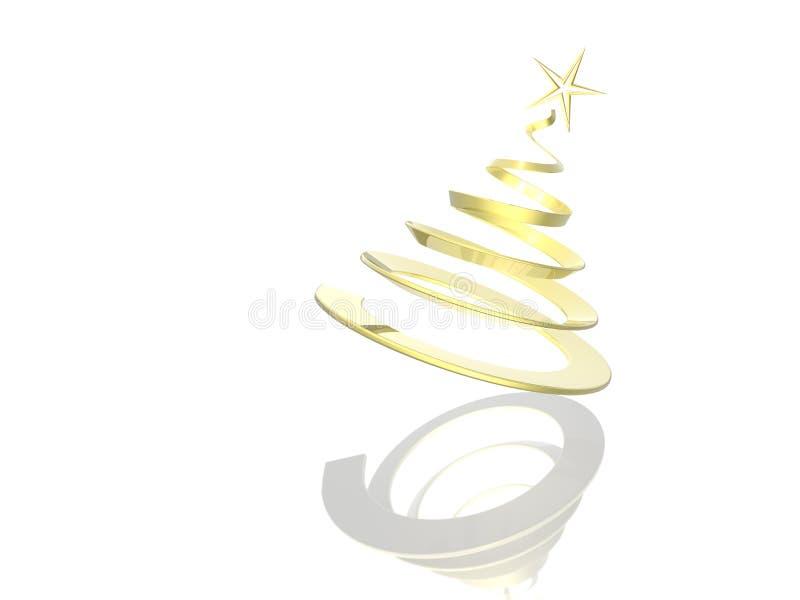 Download Ilustración Del árbol De Navidad Stock de ilustración - Ilustración de golden, navidad: 7281202