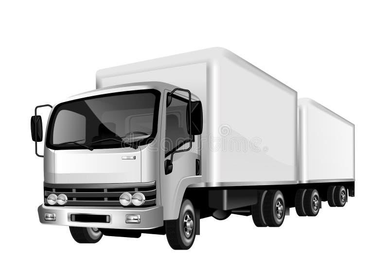 Ilustración del carro stock de ilustración