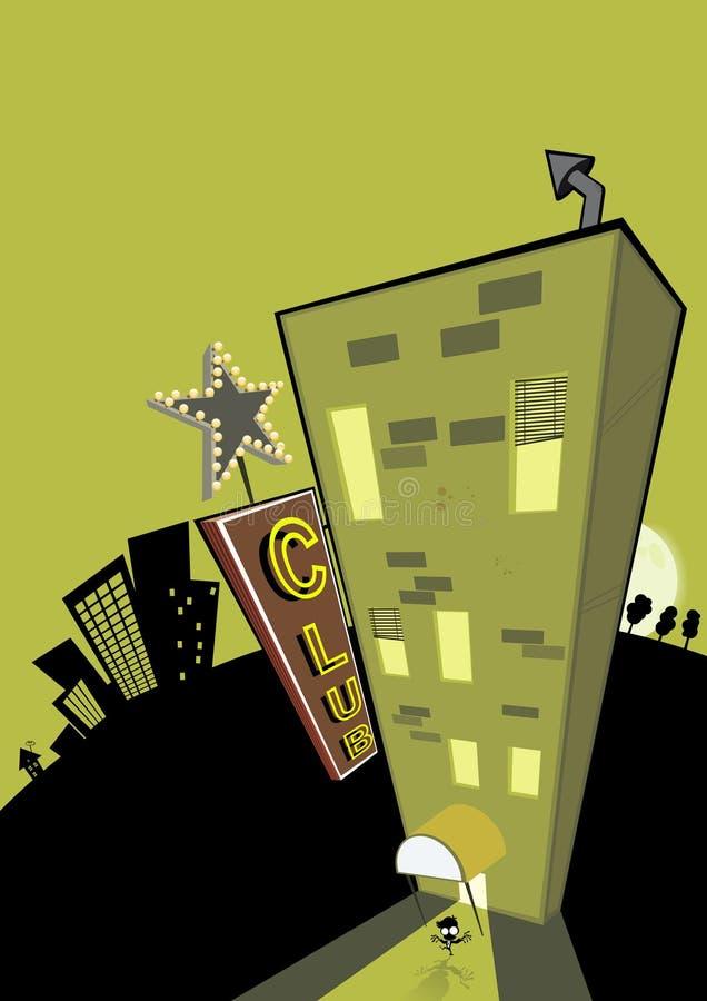 Ilustración del club libre illustration