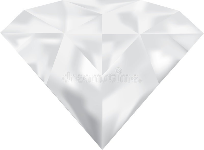 Ilustración del diamante fotografía de archivo libre de regalías