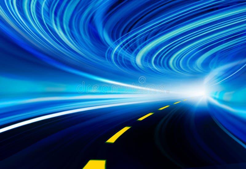 Ilustración del fondo de la tecnología, velocidad abstracta libre illustration