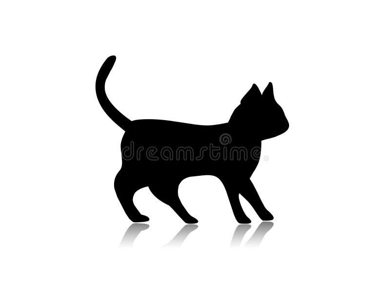 Ilustración del gato ilustración del vector