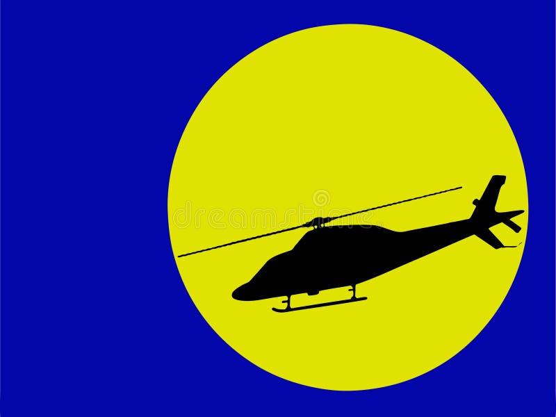 Ilustración del helicóptero libre illustration