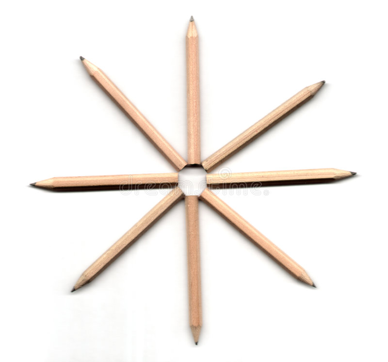 Ilustración del lápiz imagen de archivo