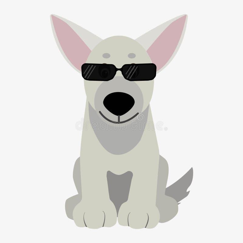 Ilustración del perro ilustración del vector