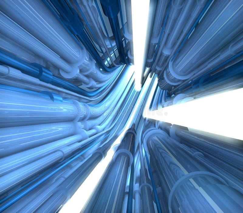 Ilustración del túnel del tubo libre illustration