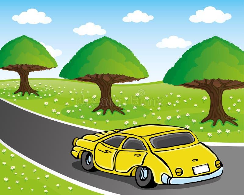 Ilustración del vector Coche libre illustration