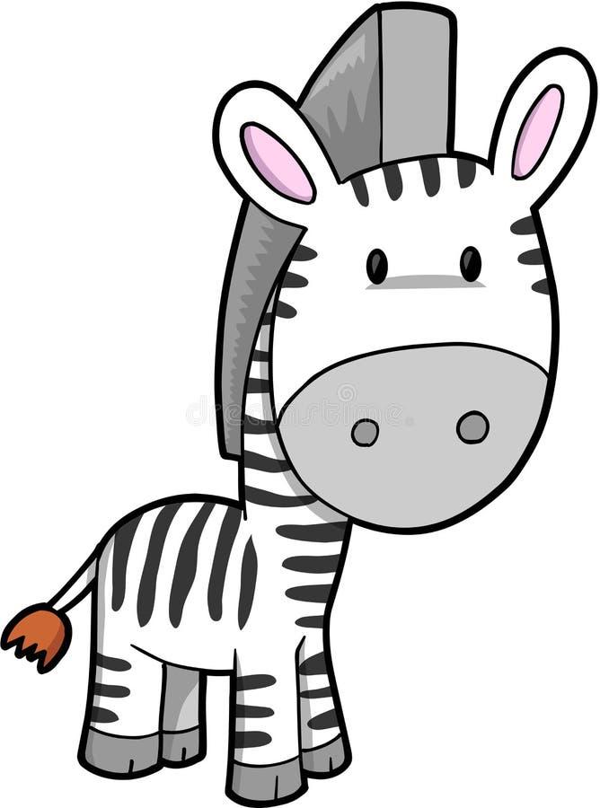 Ilustración del vector de la cebra libre illustration