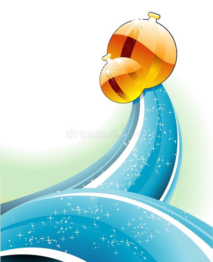 Ilustración del vector de la Navidad stock de ilustración