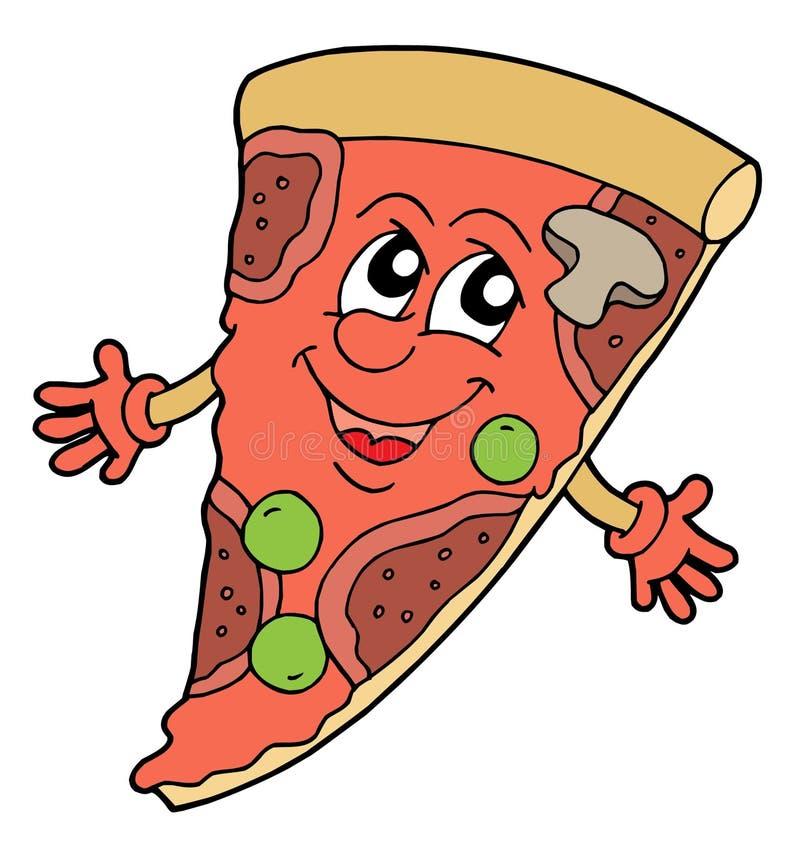 Ilustración del vector de la pizza libre illustration