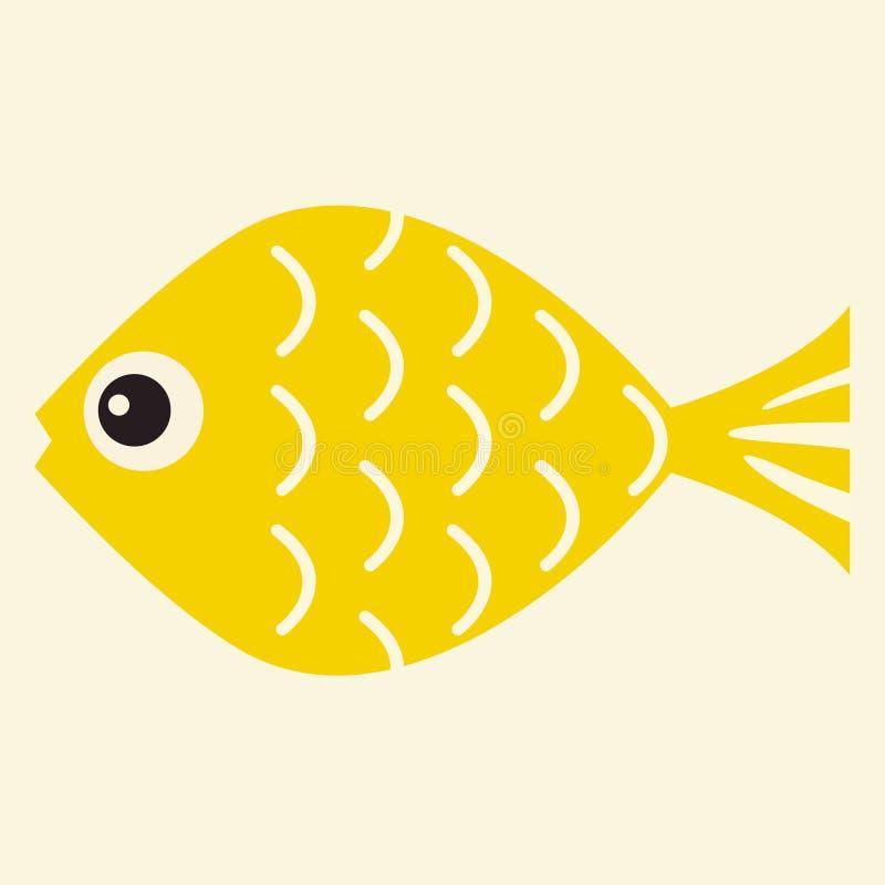 ilustración del vector de los pescados libre illustration