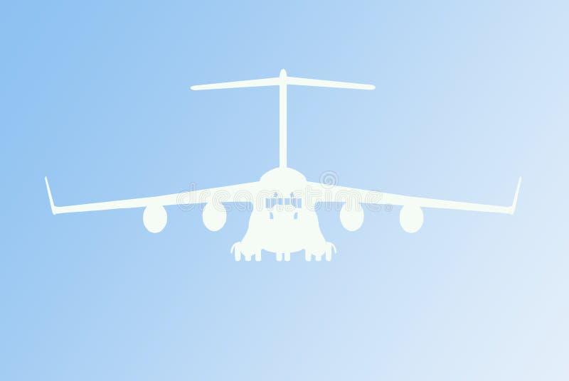 Ilustración del vector del aeroplano ilustración del vector