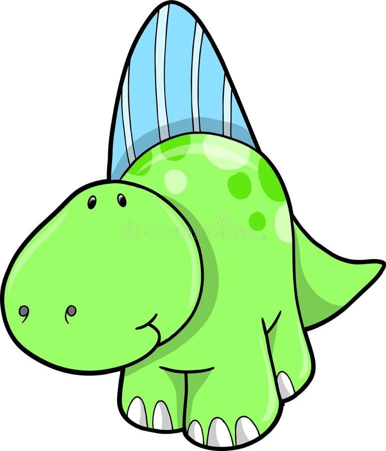 Ilustración del vector del dinosaurio ilustración del vector