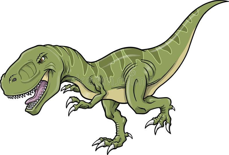 Ilustración del vector del dinosaurio del Tyrannosaurus libre illustration