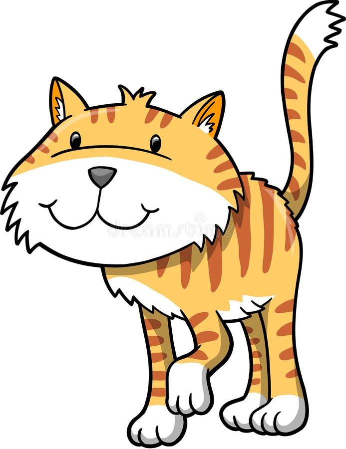 Ilustración del vector del gato libre illustration