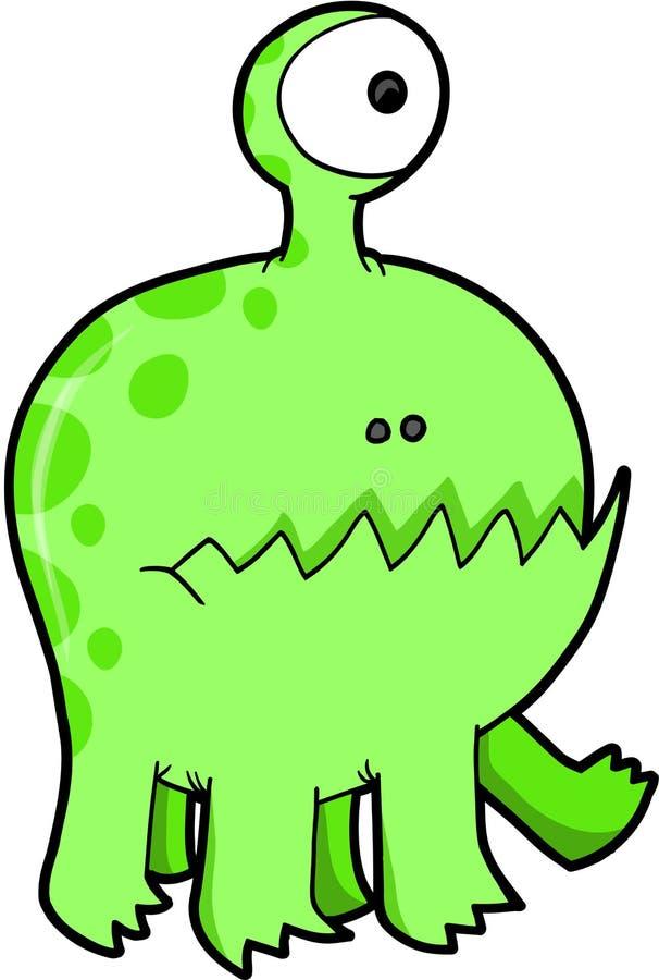 Ilustración del vector del monstruo ilustración del vector