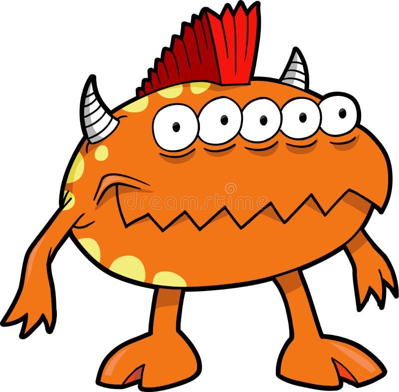 Ilustración del vector del monstruo libre illustration