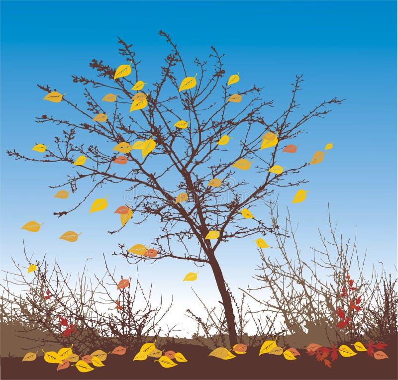 Ilustración del vector del otoño stock de ilustración