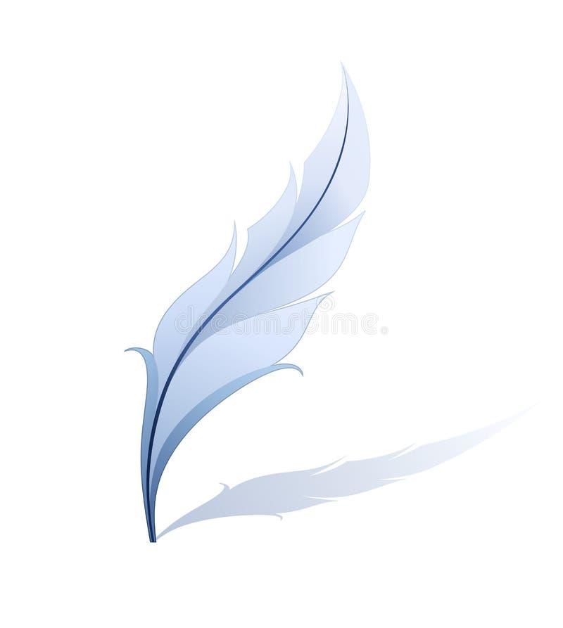 Ilustración detallada de la pluma stock de ilustración