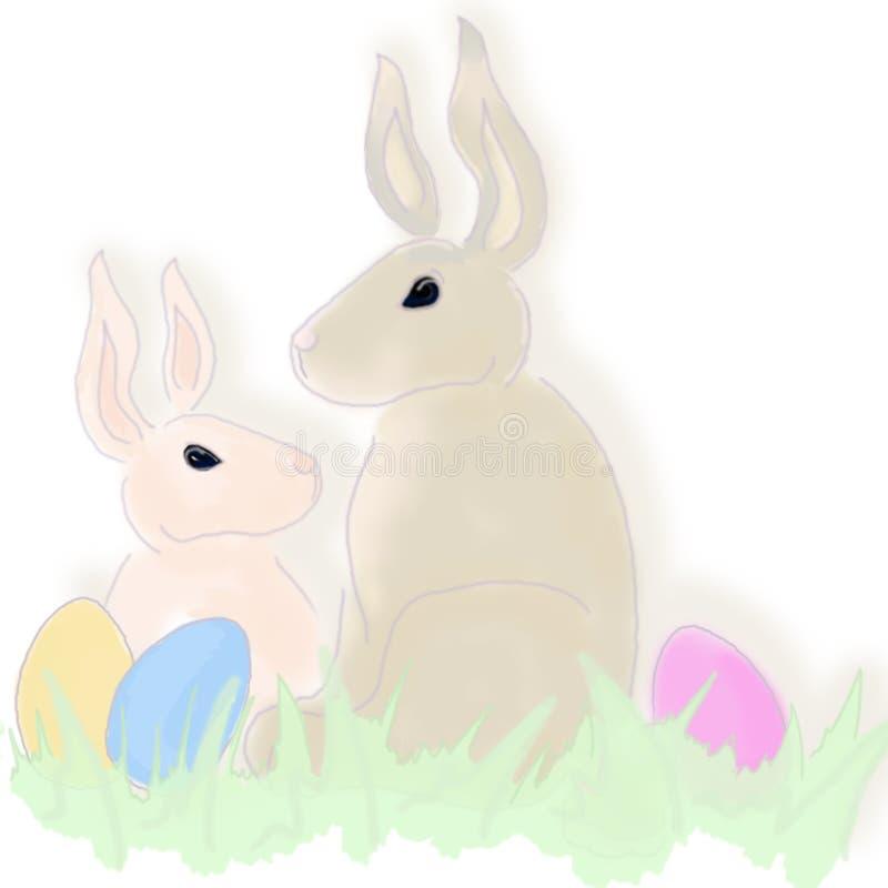 Ilustración - Pascua Foto de archivo