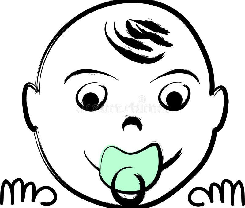 Ilustración recién nacida libre illustration