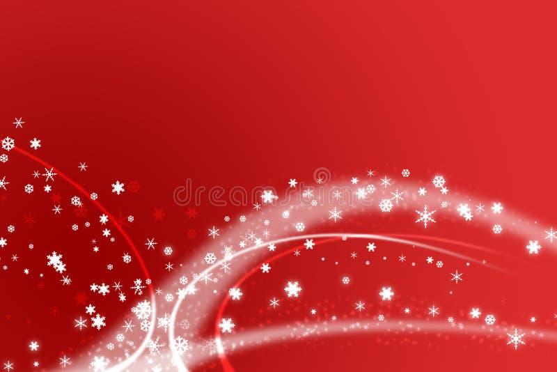 Ilustración roja de la Navidad libre illustration
