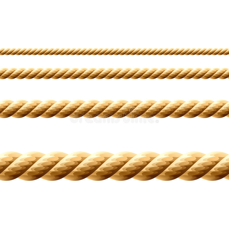 ilustraci bezszwowy linowy ilustracja wektor