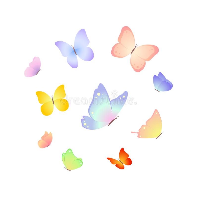 Ilustraci?n de la mariposa Vector libre illustration
