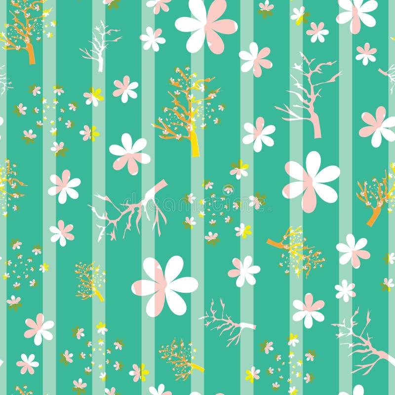 Ilustraci?n de los flores de cereza libre illustration