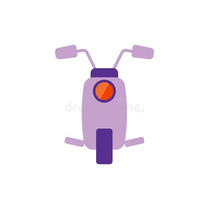 Ilustraci?n del vector Icono plano de la vespa ilustración del vector