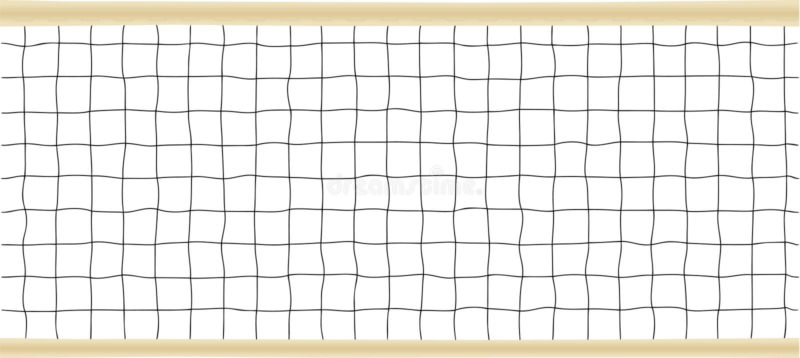 ilustraci netto tenisa wektoru siatkówka ilustracja wektor