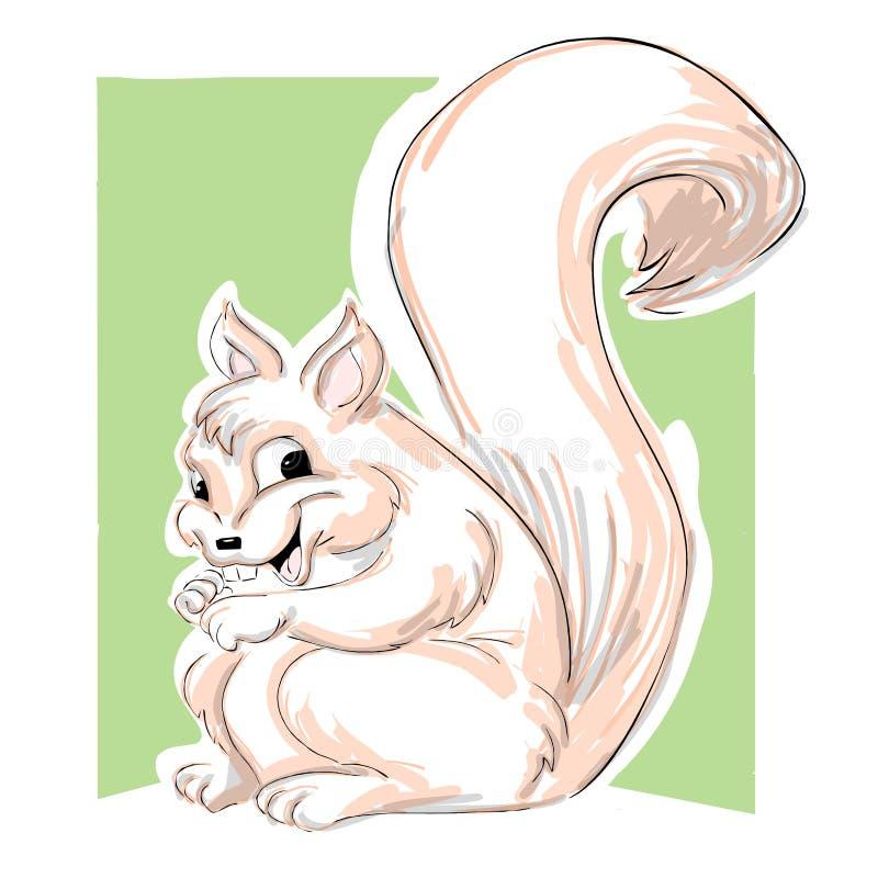 ilustraci wiewiórka ilustracja wektor