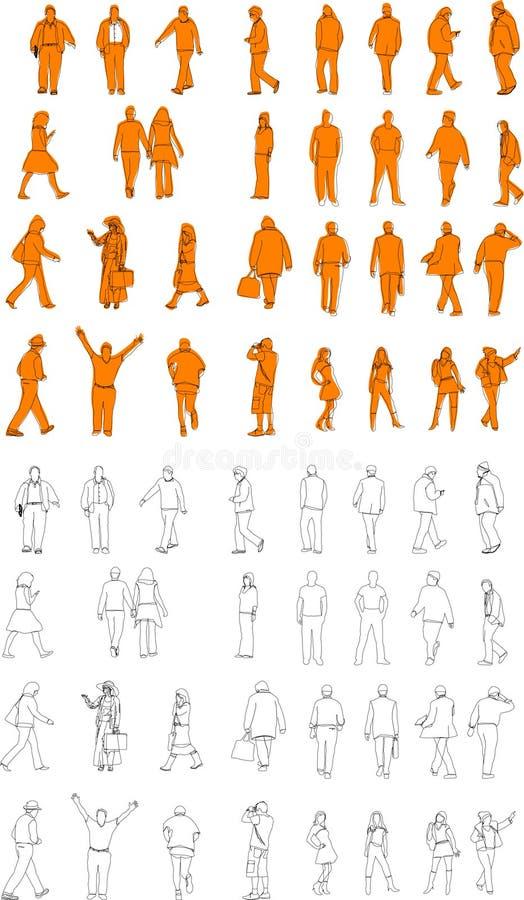 Ilustraciones de la gente libre illustration