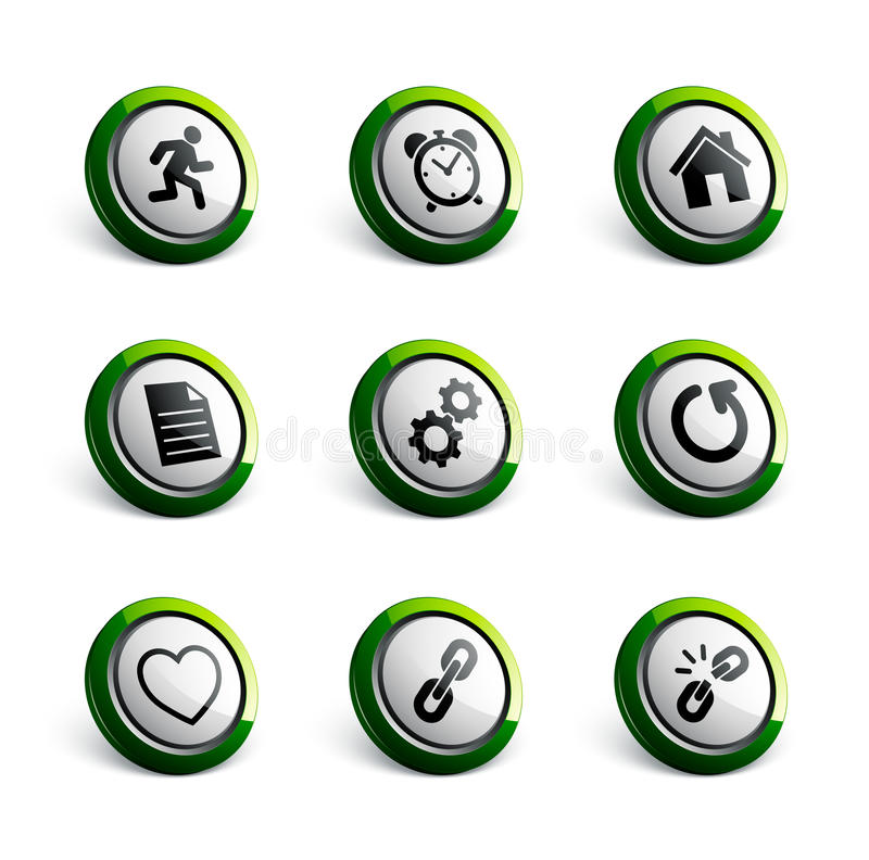 Ilustraciones del icono stock de ilustración
