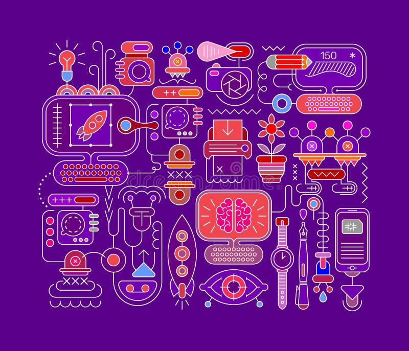 Ilustraciones del vector del diseño gráfico libre illustration