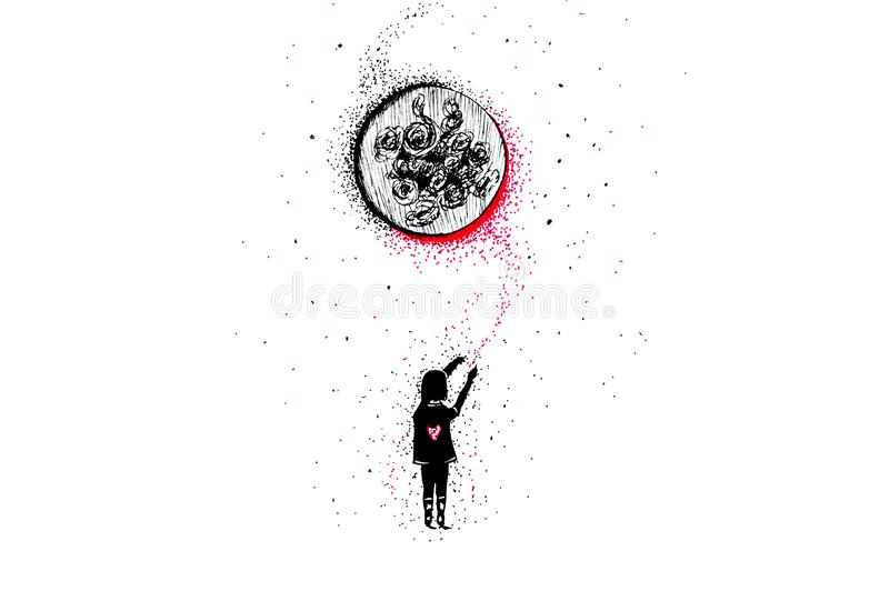 Ilustracja «sen royalty ilustracja