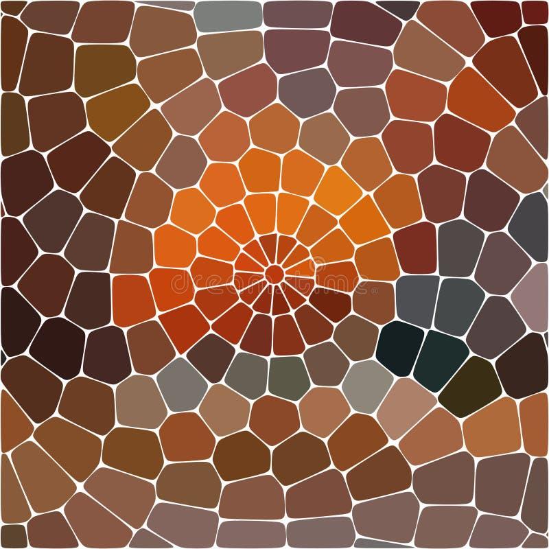 ilustracja abstrakcyjna Stubarwny Geometryczny wzór mozaiki tapeta dla tła, tekstura, tkanina, ornament lub ilustracja wektor