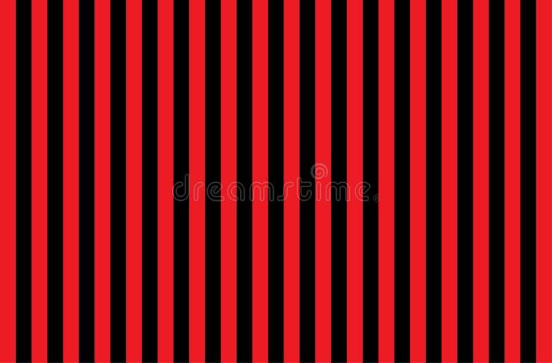 Ilustracja czerwieni i czerni lampasy symbol niebezpieczne i promieniotwórcze substancje Próbka jest powszechnie używany w przemy ilustracja wektor