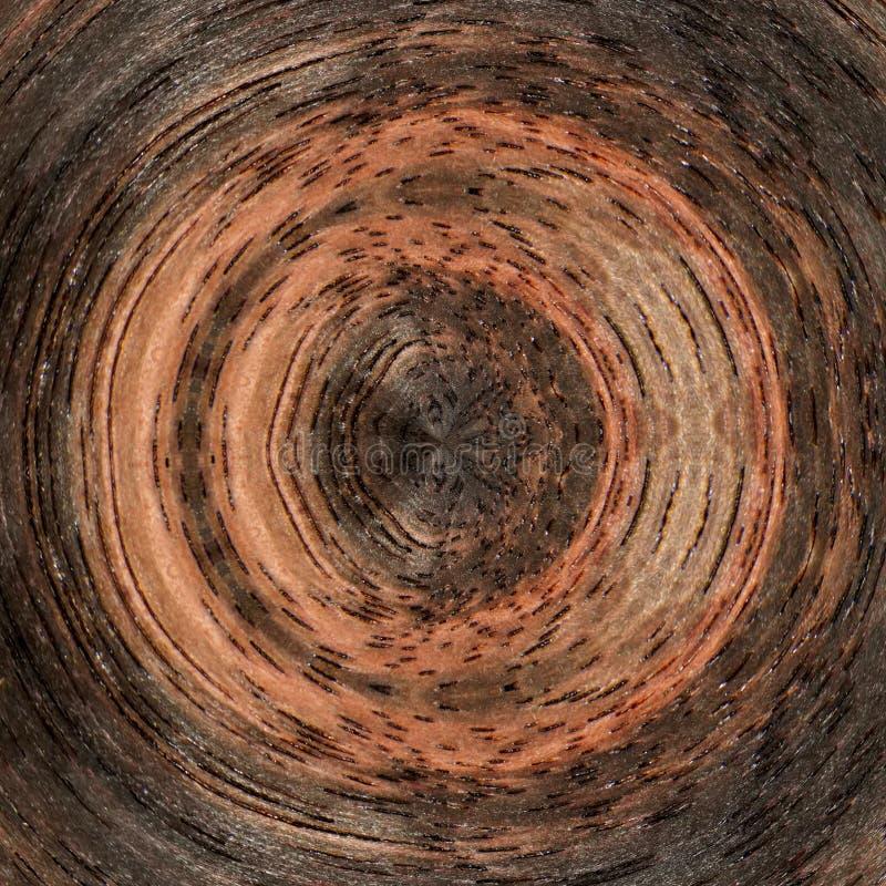 ilustracja 3 d Abstrakcjonistyczny wizerunek drewniana powierzchnia drzewo royalty ilustracja