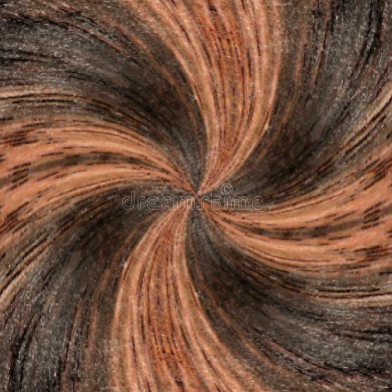 ilustracja 3 d Abstrakcjonistyczny wizerunek drewniana powierzchnia drzewo ilustracji