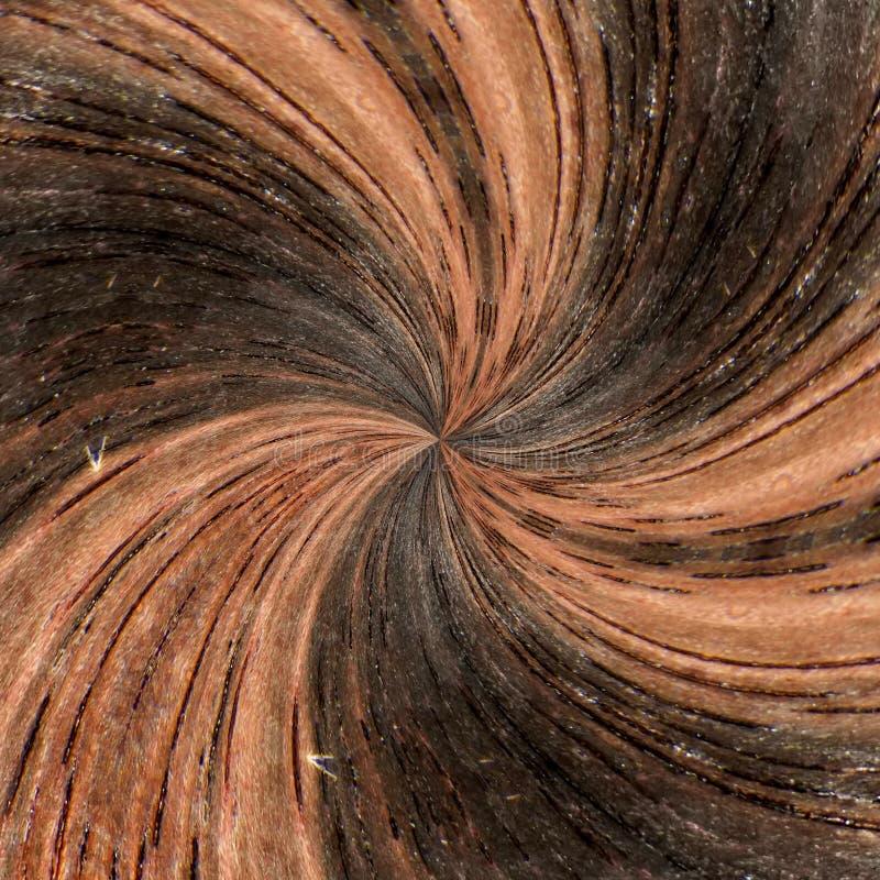 ilustracja 3 d Abstrakcjonistyczny wizerunek drewniana powierzchnia drzewo ilustracja wektor