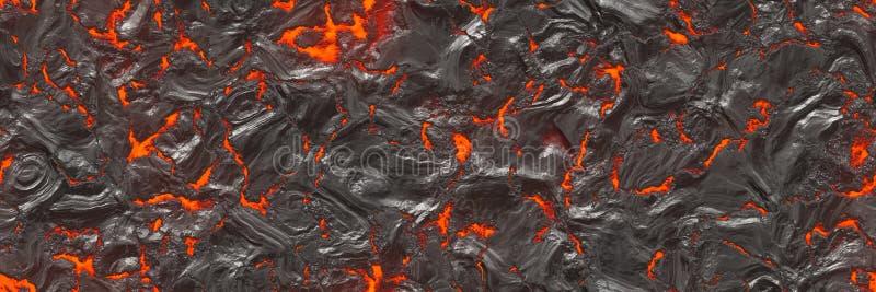 ilustracja 3 d Wulkanu t?a magma ilustracji