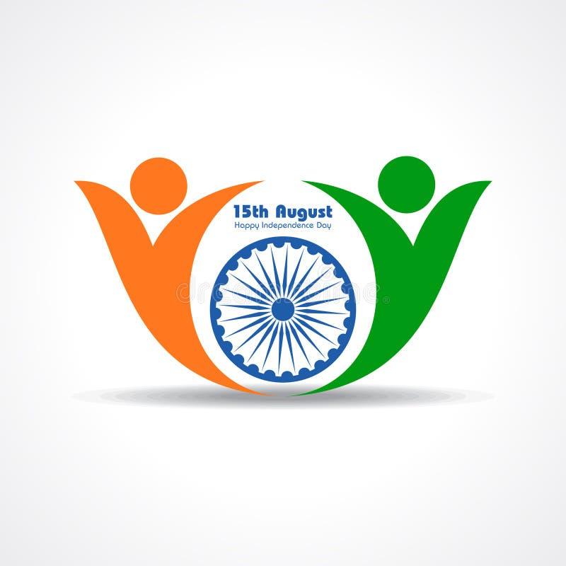 Ilustracja dla dnia niepodległości ind ilustracji