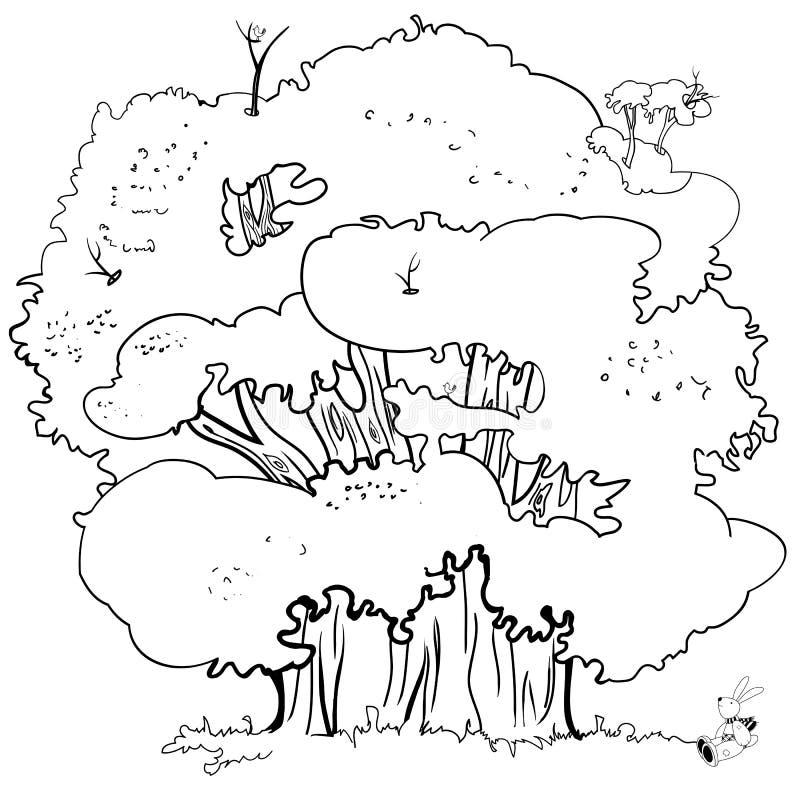 Ilustracja, drzewo ilustracji