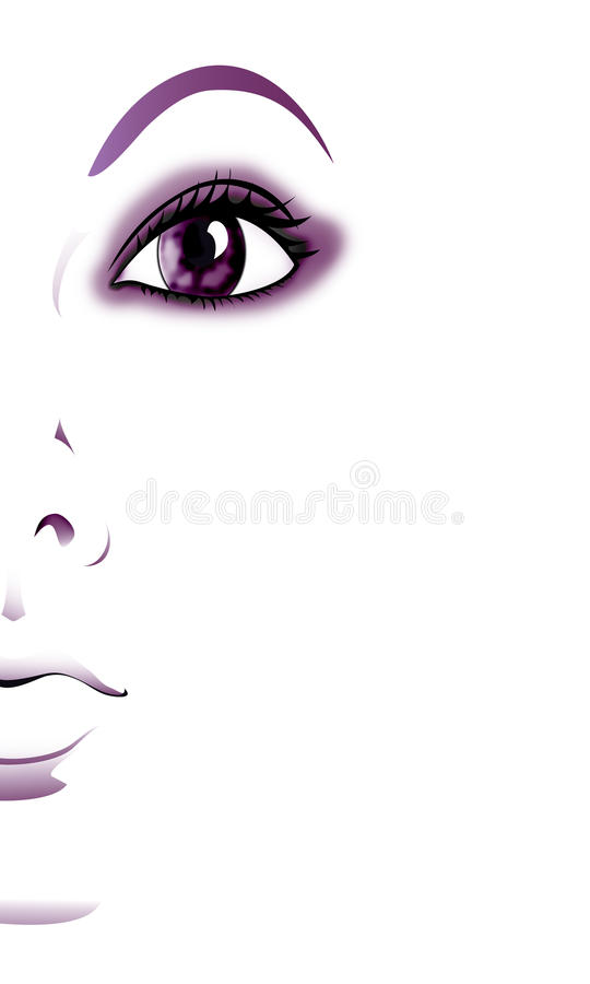 Ilustracja dziewczyna ilustracja wektor